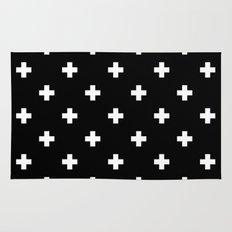 Swiss cross pattern Rug