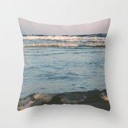 Ceaseless Waves Throw Pillow