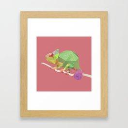 Chameleon. Framed Art Print