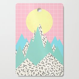 Memphis Mountains Cutting Board