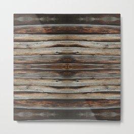 wood 2 Metal Print