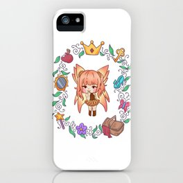 Fee sun magic fairy tale girl gift iPhone Case