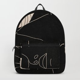 Abstract Art Nude Woman 5 Backpack