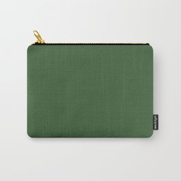 Kiss of Spring ~ Green Coordinating Solid Carry-All Pouch