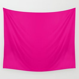 Fuschia Pink Wall Tapestry