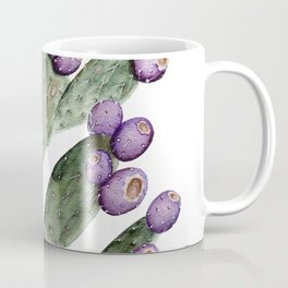 Purple Prickly Pear Painting Coffee Mug