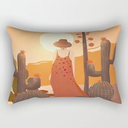 Beauty in the desert Rectangular Pillow