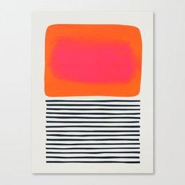 Sunset Ripples Canvas Print