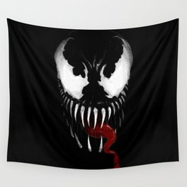 Venom, Spider man Enemie Wall Tapestry
