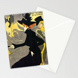 Toulouse Lautrec Divan Japonais music hall Stationery Cards