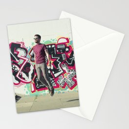 Hipster Abduction Stationery Cards