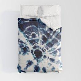 Tie Dye Sunburst Blue Comforters