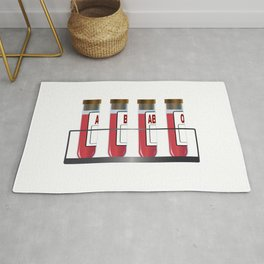 Blood Group Samples Rug