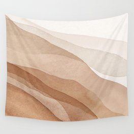 Mountains and hills Wall Tapestry