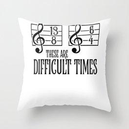 Music Orchestra Conductor sarcasm Choir Gift Throw Pillow