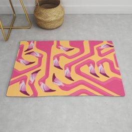 Flamingo Maze Rug