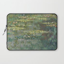 Water Lily Pond Claude Monet Laptop Sleeve