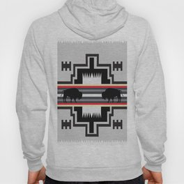 American Native Pattern No. 25 Hoody