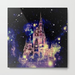 Celestial Palace Deep Pastels copyright 2sweet4wordsDesigns Metal Print