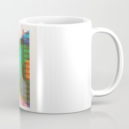 Shapes of Rio. Accurate to scale Coffee Mug
