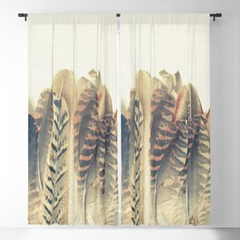 Feather Dip Blackout Curtain