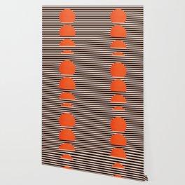 Abstraction_SUNSET_LINE_ART_Minimalism_001 Wallpaper