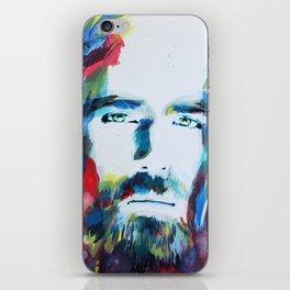 Colorful Creator Jesus Christ Painting iPhone Skin