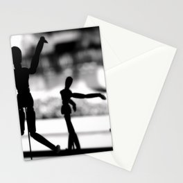 Wooden Puppet Stationery Cards