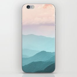Smoky Mountain National Park Sunset Layers II - Nature Photography iPhone Skin