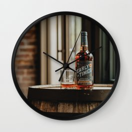 Early Times Bourbon Wall Clock