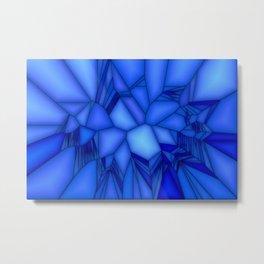Hope's blue ... Metal Print