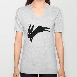 Black Rabbit Unisex V-Neck
