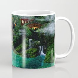 Tale of the Red Swans Coffee Mug