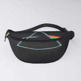 Vectorized Illustration of The Moon by Dark 1 Vectorizing,Pink-34250 Side of the Illustrated,Floyd-1973 March Vector Fanny Pack
