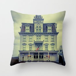 Goodspeed Opera House East Haddam Connecticut Theatre Throw Pillow
