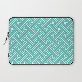 Lattice - Turquoise Laptop Sleeve
