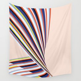 Wave Series p3 Wall Tapestry