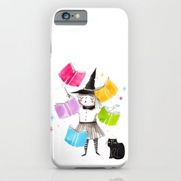 Wizard girl iPhone Case