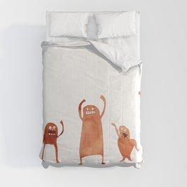 Monster Dance Party Comforters