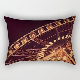 Ferris Wheel of the Place de la Concorde, Paris - Fine Art Travel Photography Rectangular Pillow