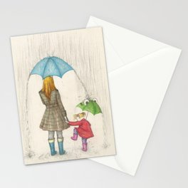 The Clouds Are Melting Stationery Cards