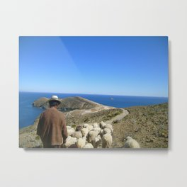 The Shepherd Metal Print