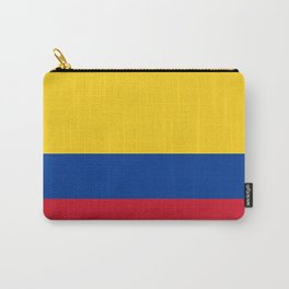 Colombian Flag - Flag of Colombia Carry-All Pouch