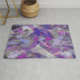 Moon Beam Abstract Rug