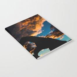 Sunset Heart Notebook