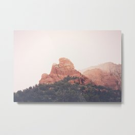 Sunrise in Sedona Metal Print