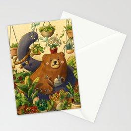 Garden Bear Stationery Cards