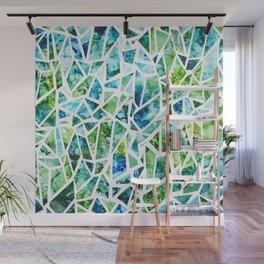 Coastal Mosaic Bright Wall Mural