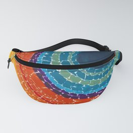 African American Masterpiece The Eclipse by Alma Thomas Fanny Pack