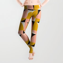 Modern Geometric_001 Leggings